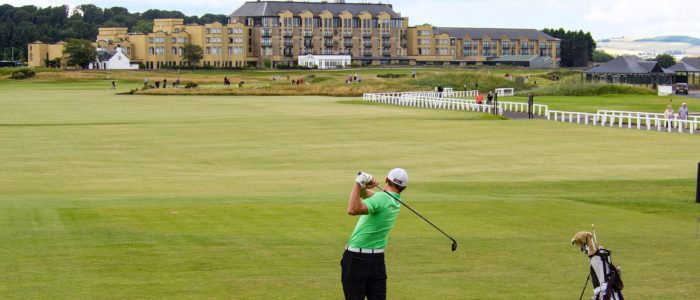 St. Andrews in Schottland die Geburtsstätte des modernen Golfspiels